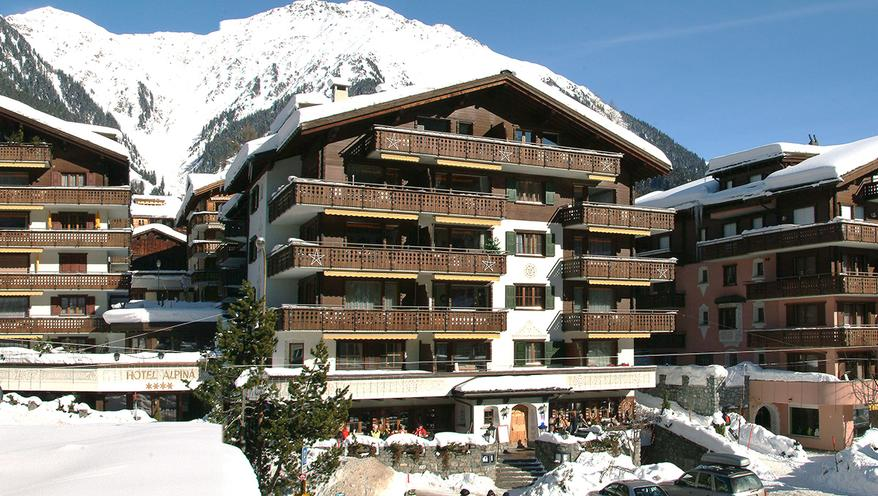 Hotel Alpina in Klosters